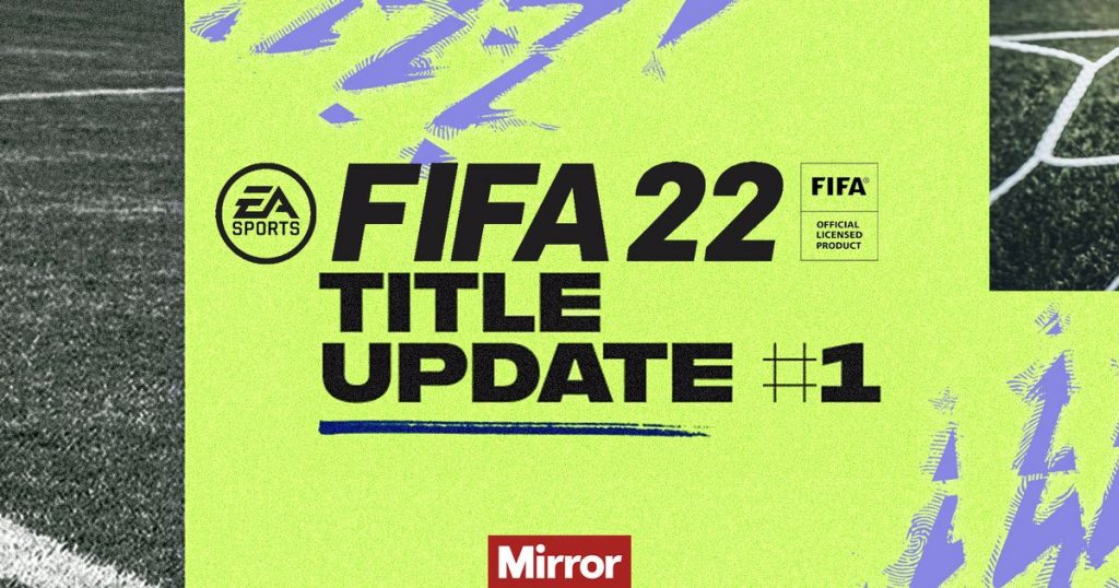 Major FIFA 22 Title Update 1 patch is now live on PS4, PS5 and Xbox 3